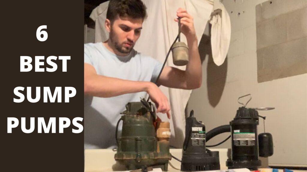 6 BEST SUMP PUMPS