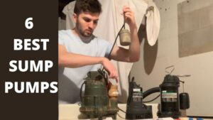 6 BEST SUMP PUMPS