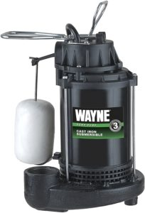 HP Submersible Cast Iron and Steel Sump Pump