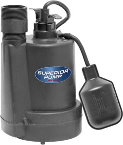 Thermoplastic Submersible Sump Pump
